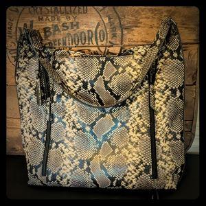Joe's Jeans Snake Print Bag
